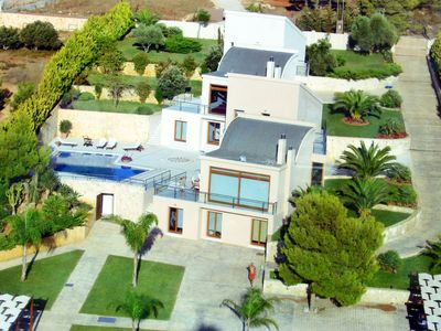 Photo for Luxury Villa Angels with Private Pool+Chirldrens Area, 2 km to Beach!