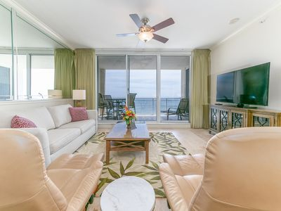 Photo for Large, updated unit, Beach service included, Walk to restaurants