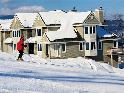 Photo for Luxurious Ski-in/ski-out Sunny Sunday River Townhouse