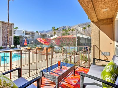 Photo for NEW! Palm Springs Condo w/ Patio & Pool Access!