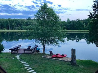 Photo for Luxury Lakefront 3BR/2Bath Innsbrook Chalet