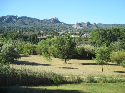 Photo for STUDIO TERRACE SAINT REMY WITH VIEW ON THE ALPILLES