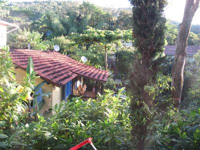 Photo for House with three bedrooms, surrounded by green, in the Tavares River, Florianópolis