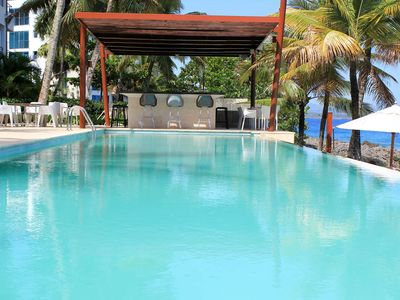 Photo for 1-Bedroom Condo in Beachfront Luxury Residence with 2 Pools and Tropical Garden