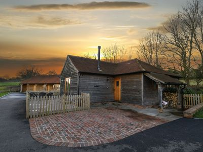 Photo for Cosy holiday home with authentic elements, stove and an outdoor jacuzzi.