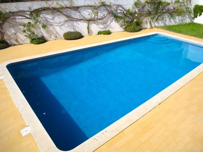 Photo for Villa with pool sonorizada at 100m from the beach in quiet area