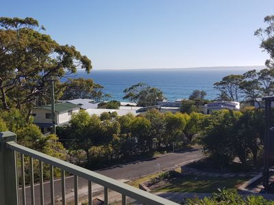 Photo for Cosy Hyams Beach Cottage in the bush with a view