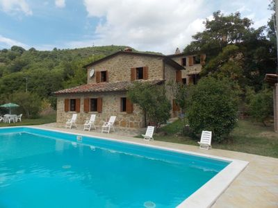 Photo for 3 bedroom Apartment, sleeps 8 in Piegaio with Pool and WiFi