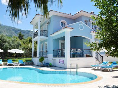 Photo for Charming 3 bed villa with private pool & garden, BBQ area and Free WIFI