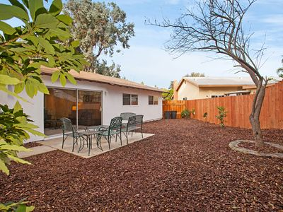 Photo for Quiet, Remodeled 3BR in University City with Outdoor Patios & Citrus Trees