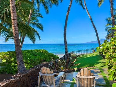 Photo for On the sand at Baby Beach!! - 4 BR Lahaina Beachfront House