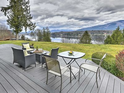 Photo for NEW! Modern Mt Vernon/Big Lake Home: Walk to Water