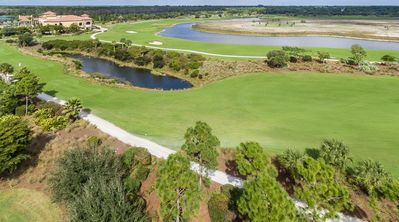 Photo for Treviso Bay End Unit Condo, TPC Golf Course, Pets Welcome!