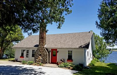 Photo for Seehaus - Charming Home Directly on Lake Champlain