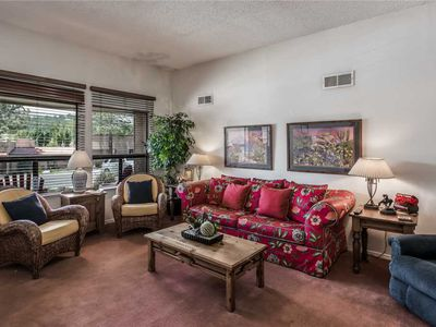 Photo for Aspen Run Condo #3B, 2 Bedrooms, Sleeps 6, On Golf Course, WiFi