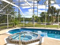 Lovely garden, pool, and spacious house in a secluded area