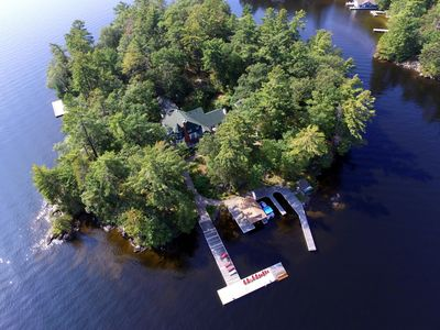 Photo for Grand Lodge - 8 Bedrooms, Cottage in Muskoka Lakes