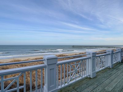 Photo for KB Villa C8 – Oceanfront condo with unobstructed views, Jacuzzi and more