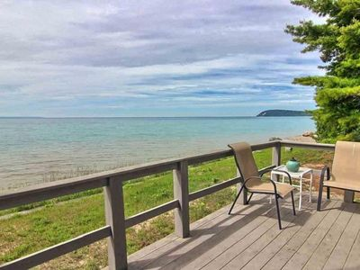 Photo for Lake Michigan Waterfront New Rental with 150 feet of private frontage Sleeps 10