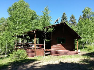 Photo for Cabin in the Woods at 9,000 ft