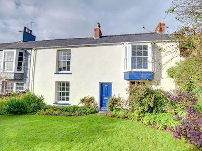 Photo for This semi-detached, listed house dating back to the 18th century, is located in Manorbier, with good
