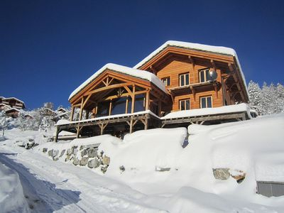 Photo for Stunning New Built Chalet. 5 Mins From Ski Lifts And Village Amenities