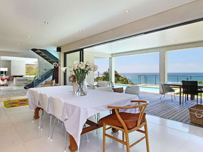 Photo for Modern Surf Villa overlooking Llandudno Beach