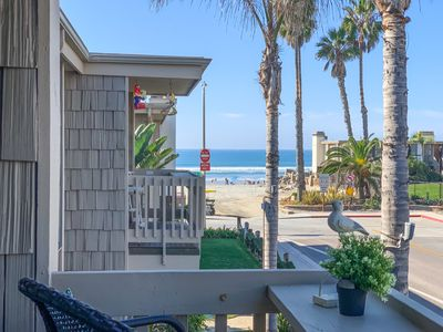 Photo for Gorgeously Updated 2 Bed/2 Bath, beach cottage with amazing ocean views!