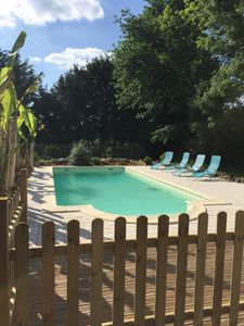 Photo for Country house with heated swimming pool and spacious garden