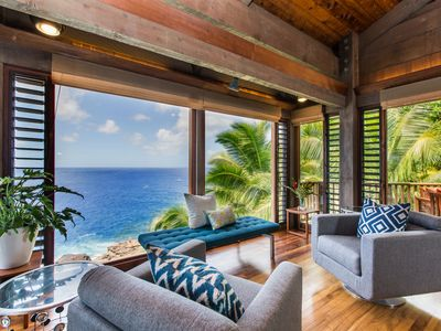 Photo for Lumahai Hale - Experience Secluded Island Lifestyle in This Lush Tropical Getaway
