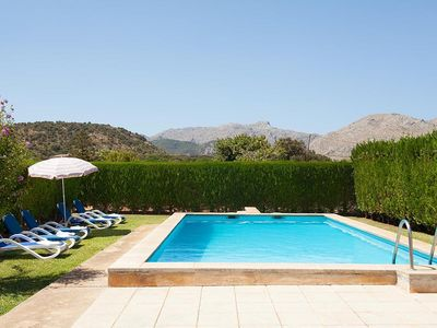 Photo for Holiday house with pool, air conditioning, WIFI, 3 bedrooms, 2 bathrooms, beach: 3.5 km