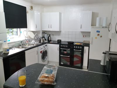Photo for 2 Bedroomed house in Paisley ( Glasgow Airport)