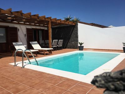 Photo for Villa Papagayo 109 with private pool, wifi, 300 meters from the sea