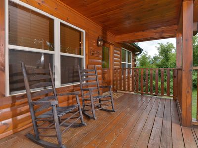 Rocking chair front porch . . .