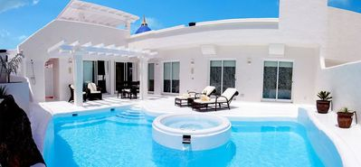 Photo for Luxury villa with private heated pool and jacuzzi integrated
