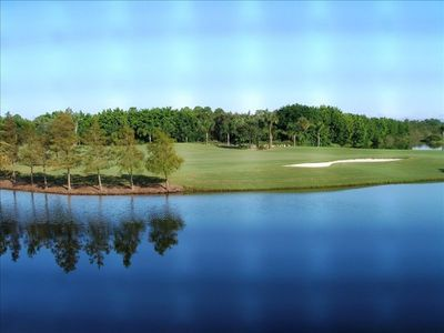 Beautiful Lake & Golf Course View from Balcony