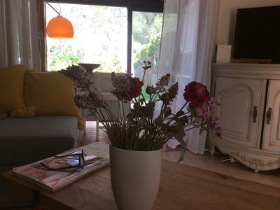Photo for Beautiful Peaceful  Garden Apartment,   near St. Tropez, close to many beaches