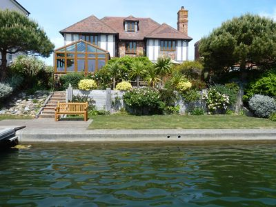 Photo for Wellington Quay - stunning six-bed house with water views and private jetty