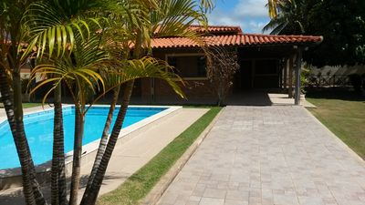 Photo for Shadow, pool and peace. All in one place ! wifi included ,. 3 bedrooms,
