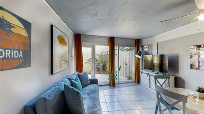 Photo for NEW LISTING! Updated condo w/ shared pool - close to beach and attractions