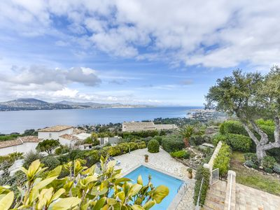 Photo for Villa St Tropez with a breathtaking sea view