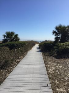 Beach Access on Forest Beach Drive at Seaside