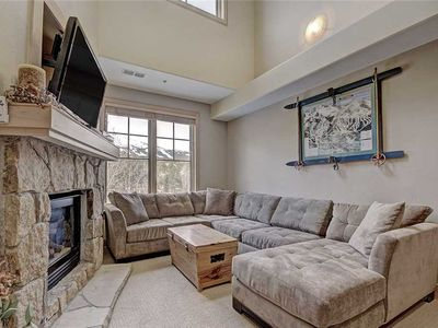 Photo for Amazing location, Steps from downtown/lifts, Outdoor hot tub, Heated garage parking!