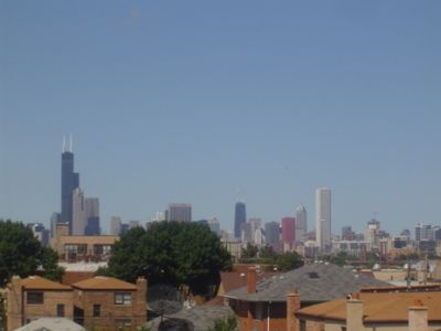 Amazing Chicago Skyline View from our Deck