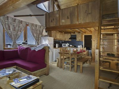 Photo for The Pic de Savoie, beautiful apartment for 11 people a few steps from the slopes