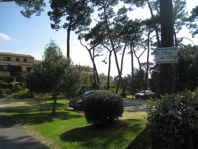 Photo for apartment with garden + parking near Royan in St Sea Palace beach at 200m