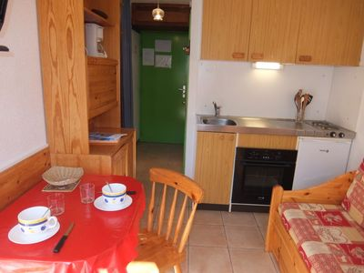 Photo for One bedroom Apartment, sleeps 3 in Levassaix with WiFi
