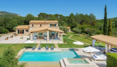 Photo for Luxury villa in Pollença with private pool