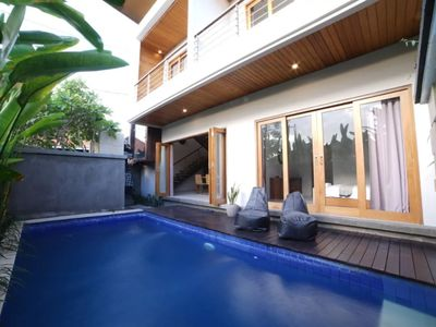 Photo for Modern Contemporary 2 Bedroom Villa in Seminyak, Newly Refurbished