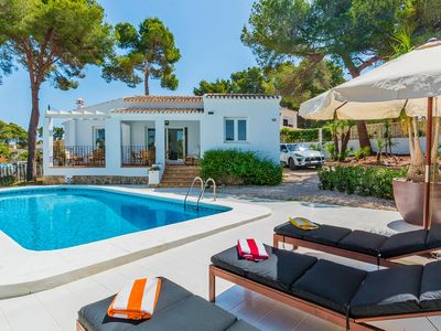 Photo for Gorgeous, newly renovated 2 bedroom villa in Javea.